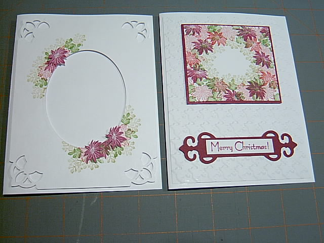 Amazing Rubber Stamp Card Making Ideas Part - 6: These Are The Remaining Two Cards ...